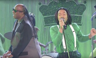 Watch John Legend & Stevie Wonder Lip Sync to OutKast