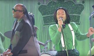 Watch John Legend & Stevie Wonder Lip Sync to OutKast