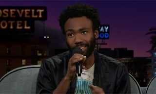 Donald Glover Slays a Jam Session on 'The Late Late Show'