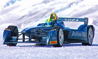 Watch a Formula E Race Car Driver Take on the Arctic Ice Cap in This Insane Clip