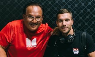 Noel Lee of Monster & Lukas Podolski Talk Headphones as Fashion