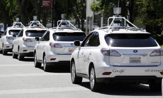 A Google Self-Driving Car Crashed in California