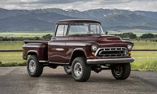 This 1957 Chevy NAPCO Truck Has Been Restored With a 430 HP Corvette Engine