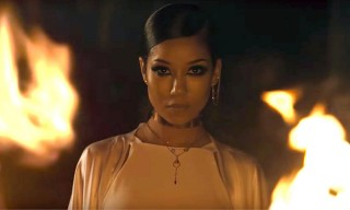 "Jhené Aiko Burns Gallant Alive in Their New Video for ""Skipping Stones"""