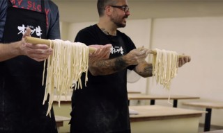Watch a Michelin-Starred Chef Make Udon From Scratch