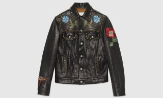 Gucci Releases an Incredible Hand-Painted Leather Trucker Jacket