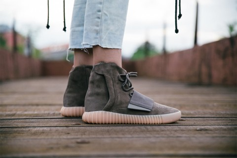 highsnobiety footshop are giving away a pair of the yeezy boost 750 chocolate