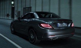 "Watch London Artist Azekel Test Drive the New Mercedes-AMG SLC 43 in ""Urban Lights"""