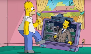 Watch Homer Simpson Give Jimmy Kimmel a Personal Tour of Springfield