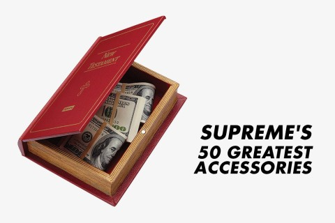 caca31efe8dd Supreme  The 50 Greatest Accessories of All Time