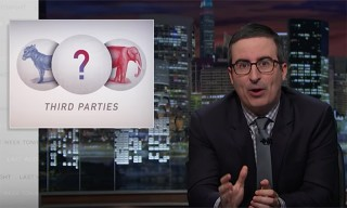 John Oliver Exposes Third Party Candidates in Hilarious 'Last Week Tonight' Segment