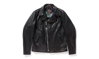 Stussy and Schott NYC Team up on a Contemporary Leather Biker Jacket