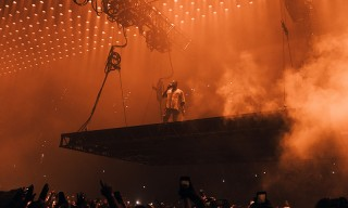 Kanye West Dedicates Song to Kid Cudi During 'Saint Pablo' Tour Stop in Los Angeles
