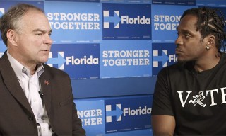 Watch Pusha T Interview VP Candidate Tim Kaine Ahead of Election Day