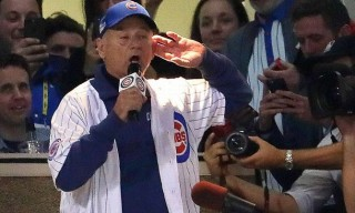 "Watch Bill Murray Sing ""Take Me Out to the Ballgame"" as Daffy Duck at World Series"
