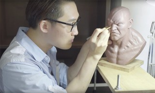 Take a Look Inside the Studio of Monster Sculpture Artist Joseph Tsang