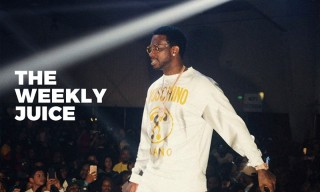 Gucci Mane Is a Moschino Man, Pharrell Hangs With BAPE & More