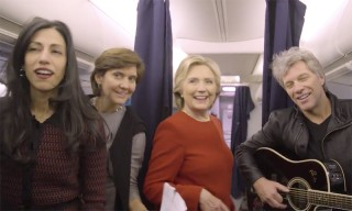 "Hillary Clinton Implores Americans to ""Vote Today"" With Epic Mannequin Challenge"