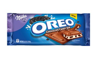 Oreo Launches New Oreo-Stuffed Chocolate Candy Bars and They Look Delicious