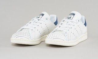 """adidas's Iconic Stan Smith Gets a """"Sliced"""" Leather Rework"""
