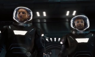 The Second 'Passengers' Trailer Sees Jennifer Lawrence and Chris Pratt Toil in Space