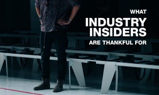 Here's What Industry Insiders Are Thankful For This Year