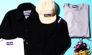 FILA Teams up With Japan's BEAMS T on This Cozy Capsule Collection
