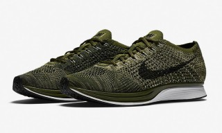 The Nike Flyknit Racer Arrives In Hot Military Green Colorway