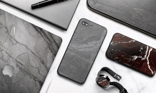 These Tech Accessories Are Handcrafted From 350 Million-Year-Old Rock