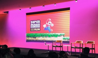 Apple & Nintendo Launched 'Super Mario Run' With Creator Shigeru Miyamoto Last Night in NYC