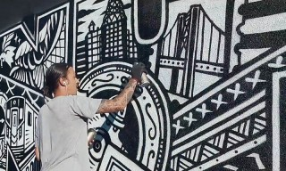 Eastpak Spends a Day With French Graffiti and Tattoo Artist Franck Pellegrino in NYC