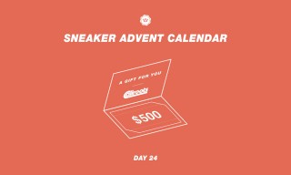 Highsnobiety Sneaker Advent Calendar: Day 24