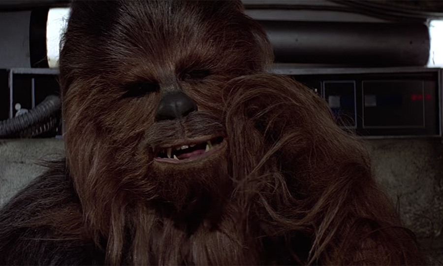 Listen To Chewbacca Give A Stirring Rendition Of Quot Silent