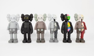 KAWS' Classic Companion Figures Available Now at Galerie Perrotin