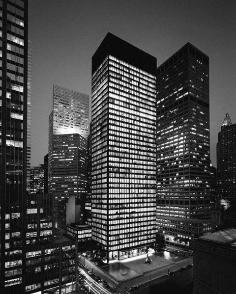 The Seagram Building, New York, USA, 1958