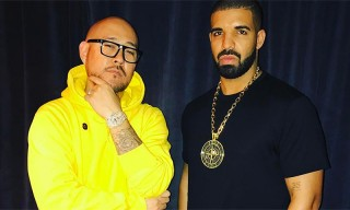 "Drake Received a $100K Gold and Diamond ""Stone Island"" Chain From Ben Baller"