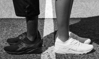 ASICS Tiger Champions Global Unity In Film for All-New Monochrome GEL-Kayano Trainer Knit