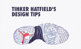 Tinker Hatfield's 10 Key Tips for Budding Sneaker Designers