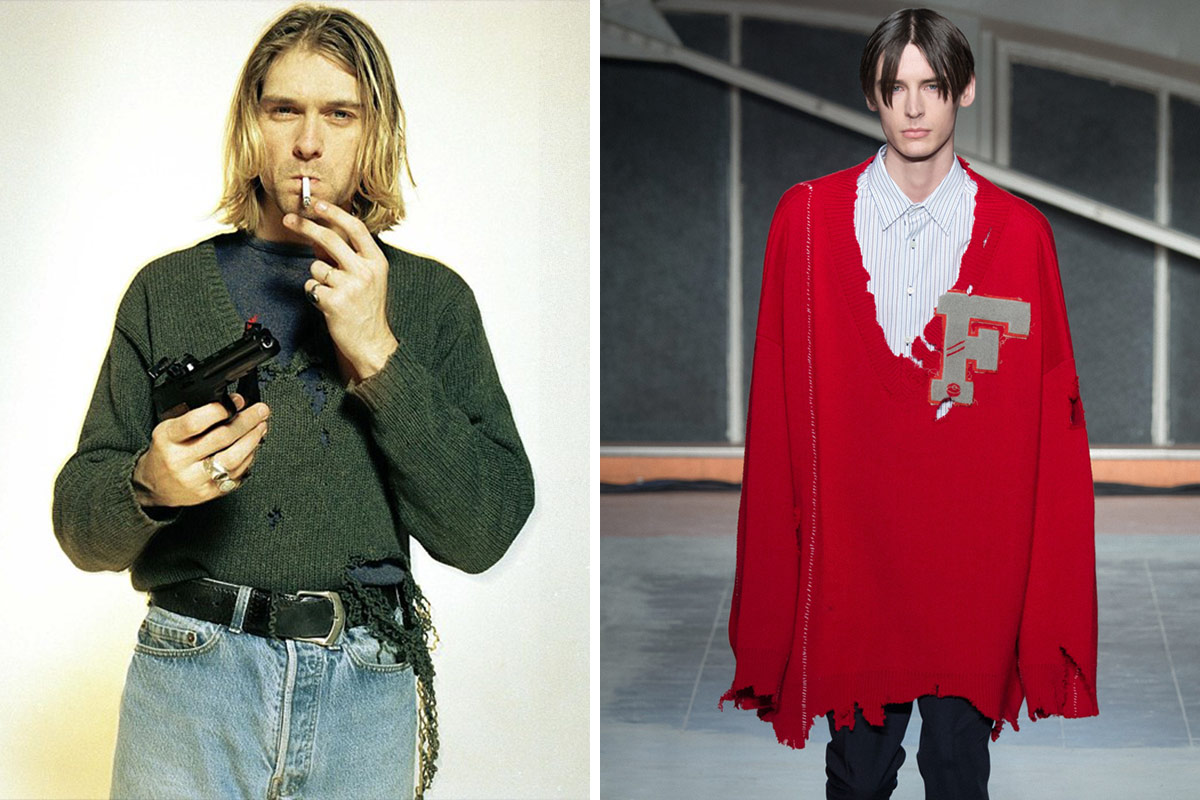 dab1961054 10 Cur Fashion Trends That Kurt Cobain Did First Highsiety