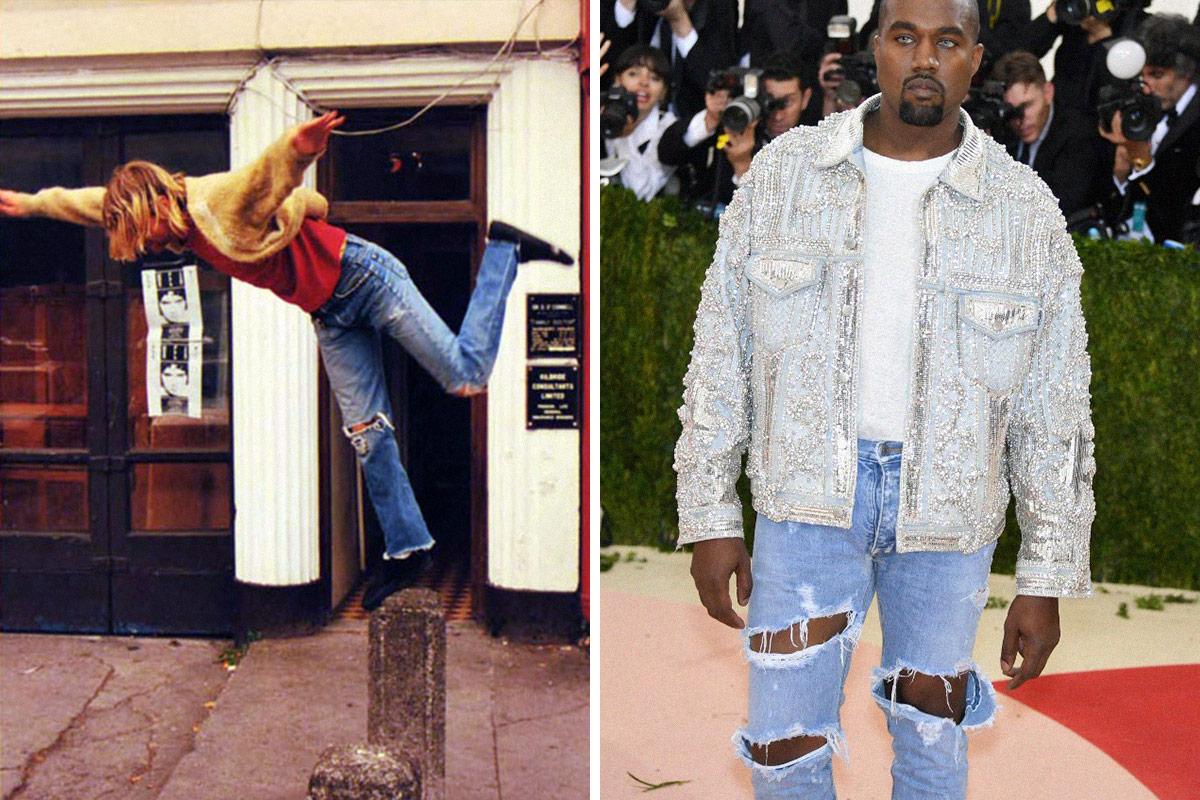 sc 1 st  Highsnobiety & 10 Current Fashion Trends That Kurt Cobain Did First   Highsnobiety