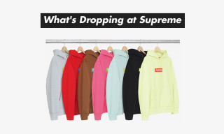 Here's What's Dropping at Supreme Tomorrow