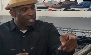 NFL's Deion Sanders Has Strong Words for Nike While Sneaker Shopping