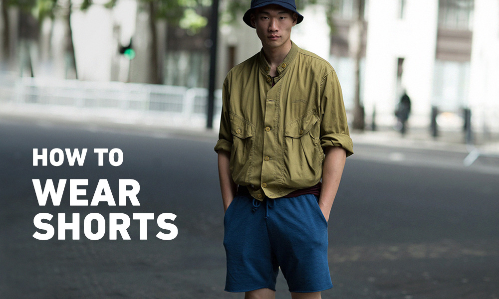 Dear Men, Here's How To Wear Shorts Right