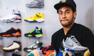 10 Times Neymar Proved He's Football's Biggest Sneakerhead
