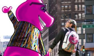 Sprayground's Biggie Barney Backpack Will Make You Feel Like a Kid Again