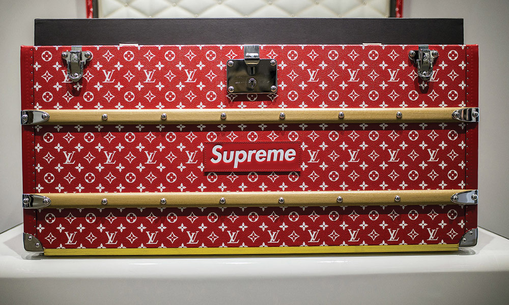 Supreme X Louis Vuitton Trunks Rich Teenagers Bought It