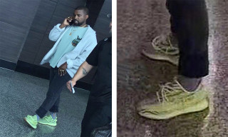"Kanye West Shows Us How to Style The ""Semi-Frozen Yellow"" YEEZY"