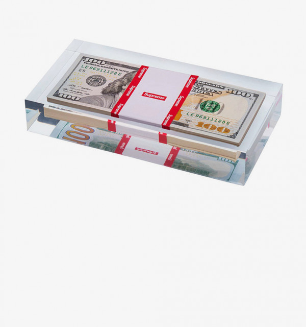 Why Did Supreme Make a Paperweight With Actual Money?