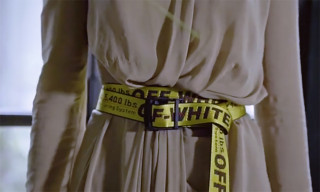 """OFF-WHITE Explains How to Wear The """"Industrial Belt"""""""