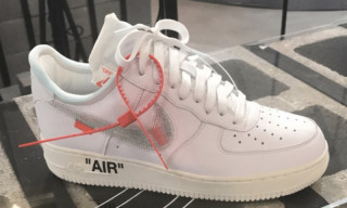 Take a Look at These Custom Air Force 1 Kicks by Virgil Abloh & Travis Scott